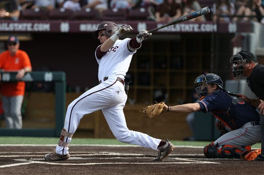 Mississippi State sophomore shortstop Jordan Westburg went 0-for-10 in the Texas A&M series.