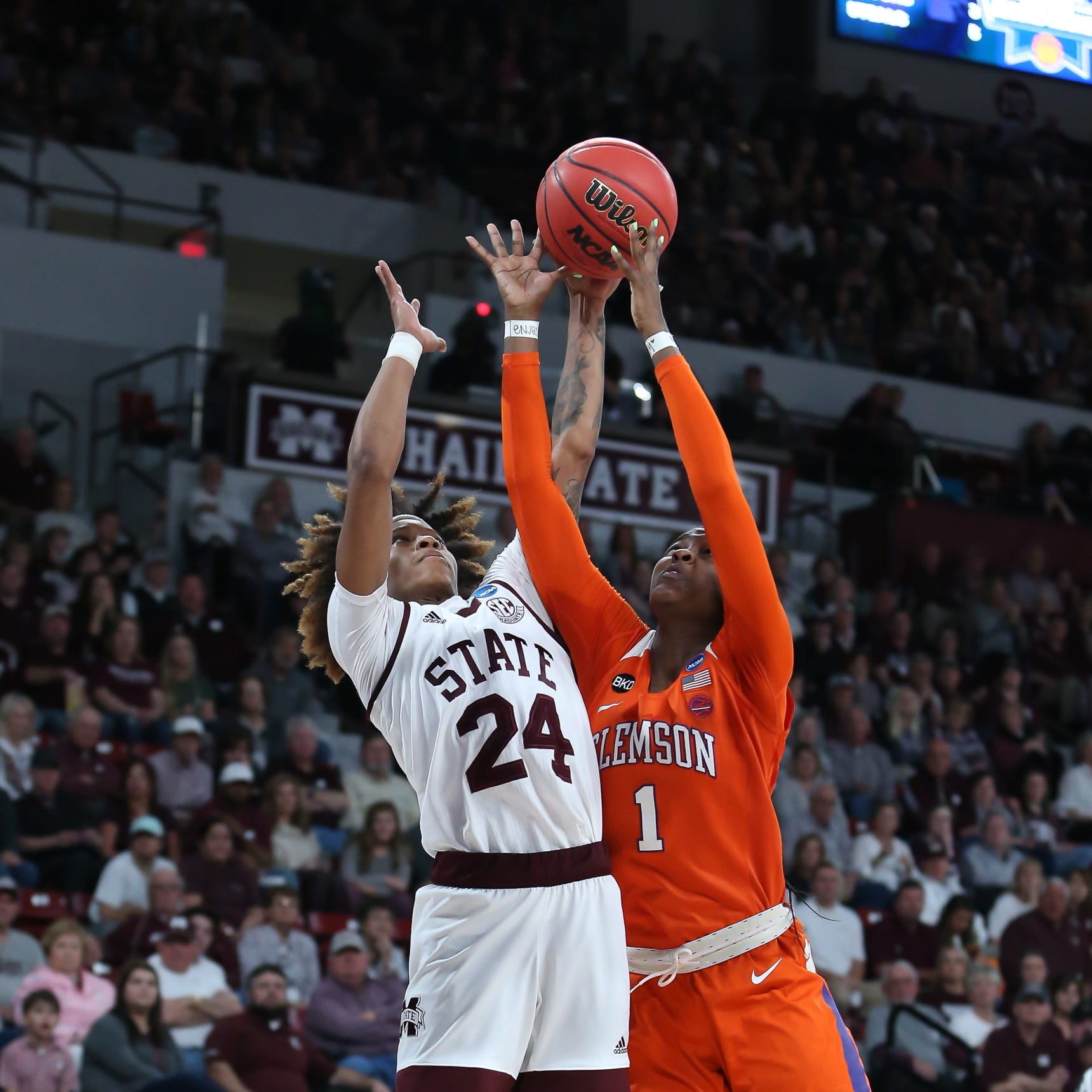 Mississippi State tops Clemson 85-61 for fourth straight trip to Sweet 16