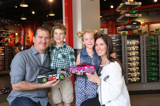 RideMakerz at The Island in Pigeon Forge lets kids build custom remote-control cars.