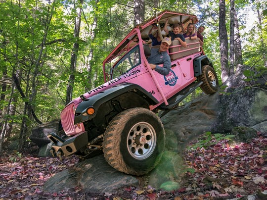 PINK Adventure Tours will give off-road tours of the Smokies starting in April.