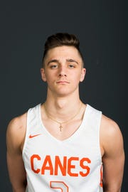 PrepXtra Player of the Year nominee Connor Jordan poses for a photo in the Knoxville News Sentinel photo studio in Knoxville, Tennessee on Thursday, March 21, 2019.