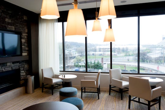 The Residence Bistro inside the new Courtyard and Residence Inn by Marriott at 210 Church Ave. in Knoxville.