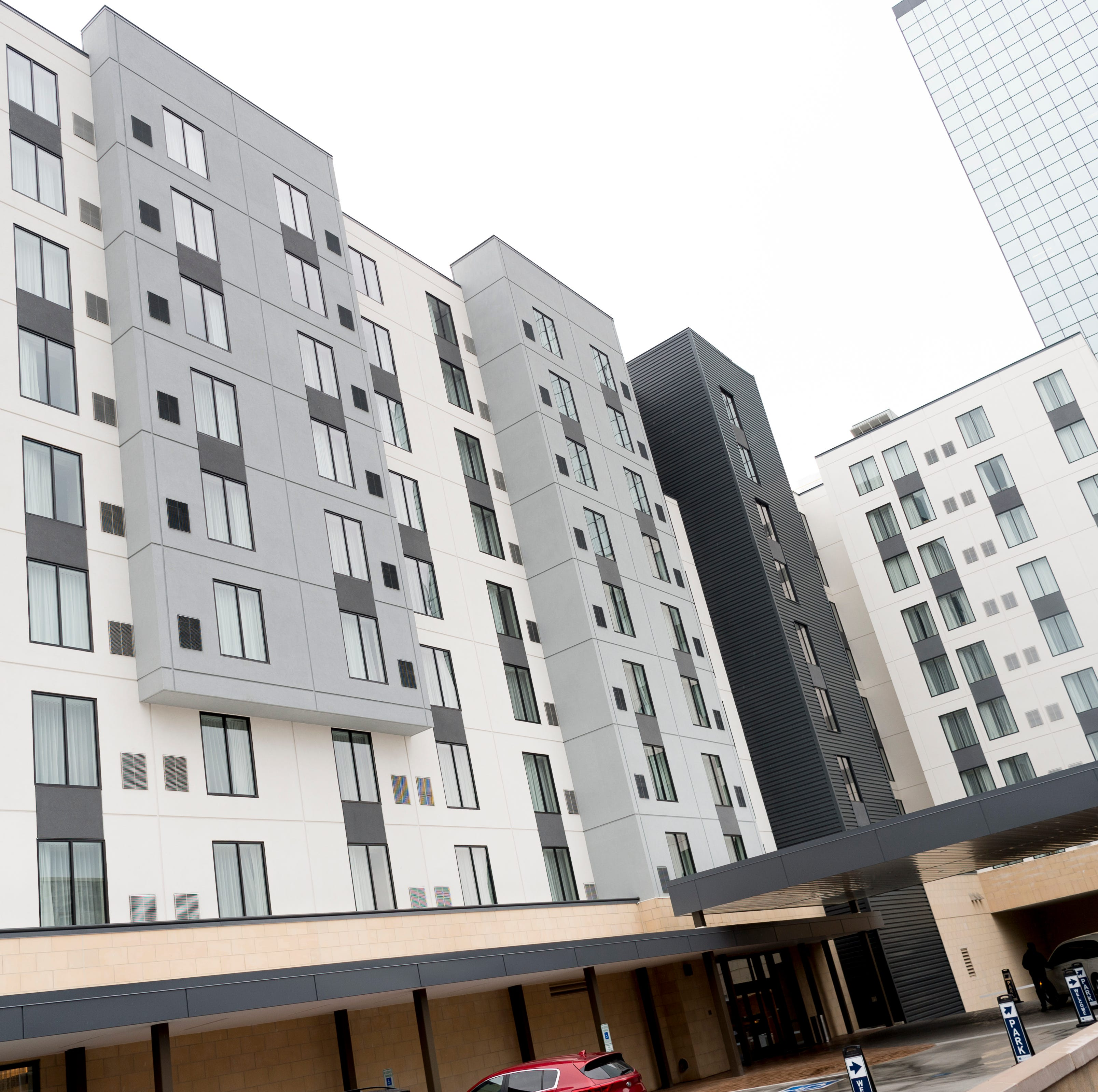 'Urban elegance': Courtyard and Residence Inn by Marriott opens downtown as 2 hotels in 1