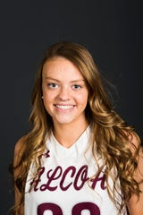 PrepXtra Player of the Year nominee Destiny Haworth poses for a photo in the Knoxville News Sentinel photo studio in Knoxville, Tennessee on Wednesday, March 20, 2019.