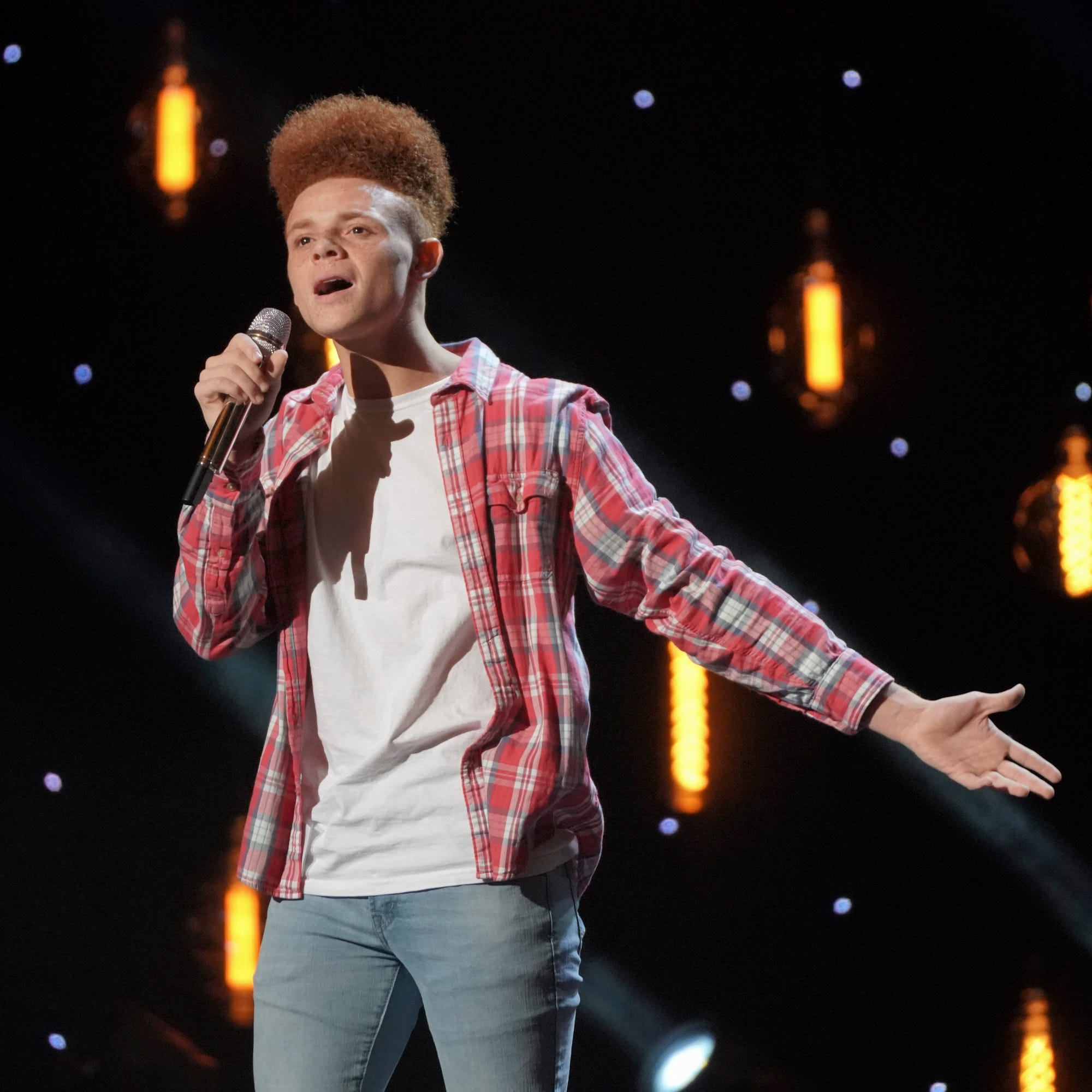 East Tennessee's Drake McCain covers Willie Nelson on 'American Idol,' advances