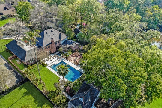 The estate sits on a huge piece of property in the heart of Lafayette.