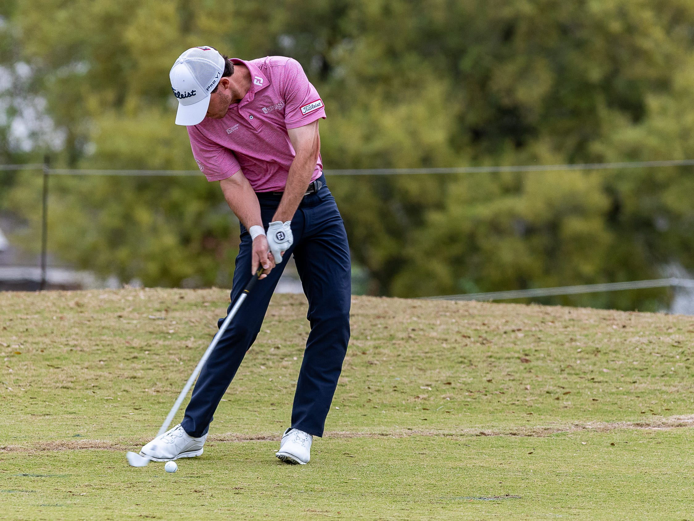 Michael Johnson during the final round of the Web.com 2019 Chitimacha Louisiana Open presented by Mistras at Le Triomphe. Sunday, March 24, 2019.