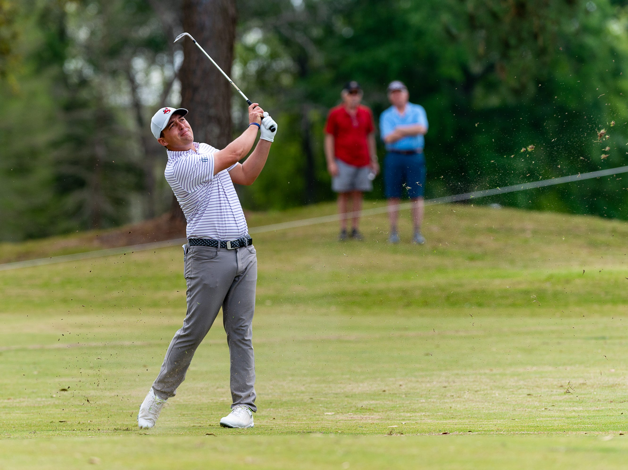 Justin Lower during the final round of the Web.com 2019 Chitimacha Louisiana Open presented by Mistras at Le Triomphe. Sunday, March 24, 2019.