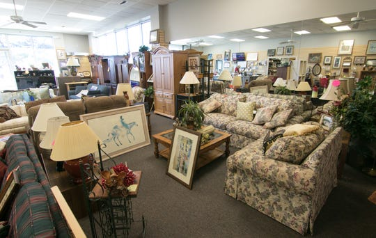 Second Chance's resale store in Brighton Township, shown Monday, March 25, 2019, is in search for a new location.