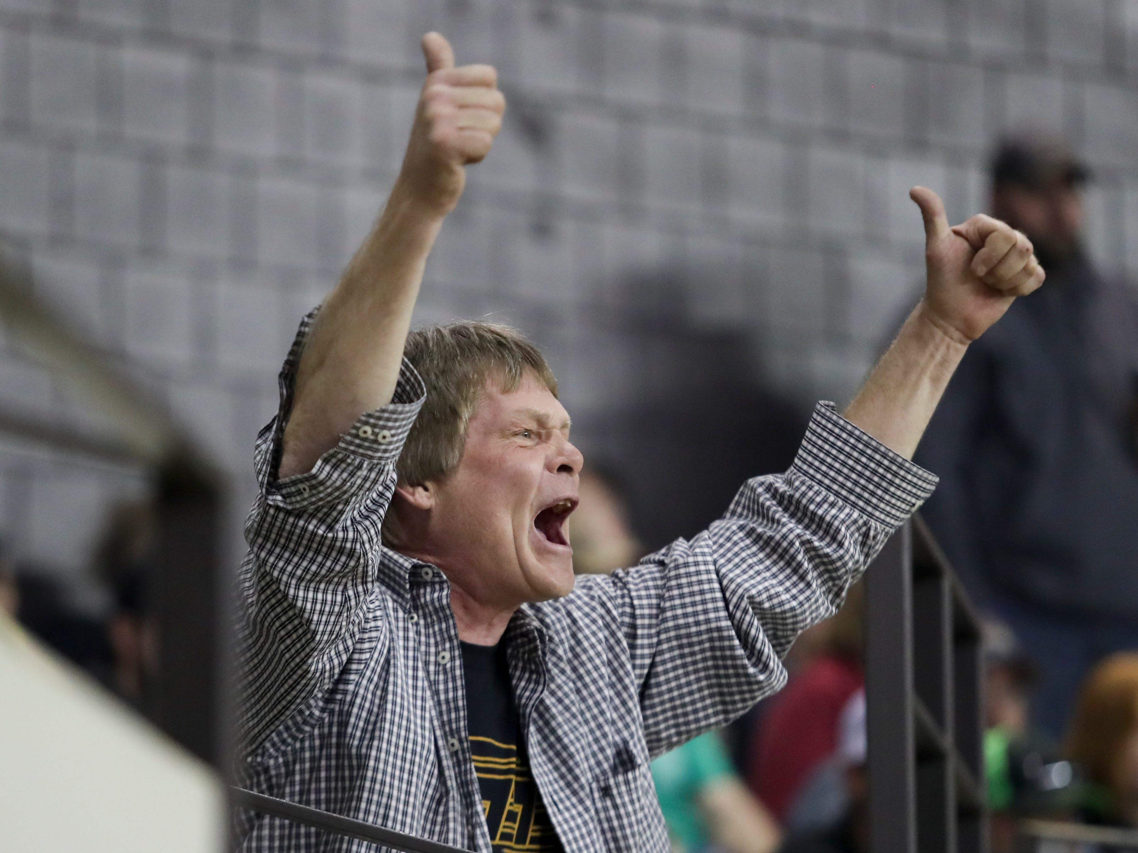 Fans cheered on their favorite drivers at the 4th annual Bluegrass Bash Demolition Derby in Freedom Hall on March 23.