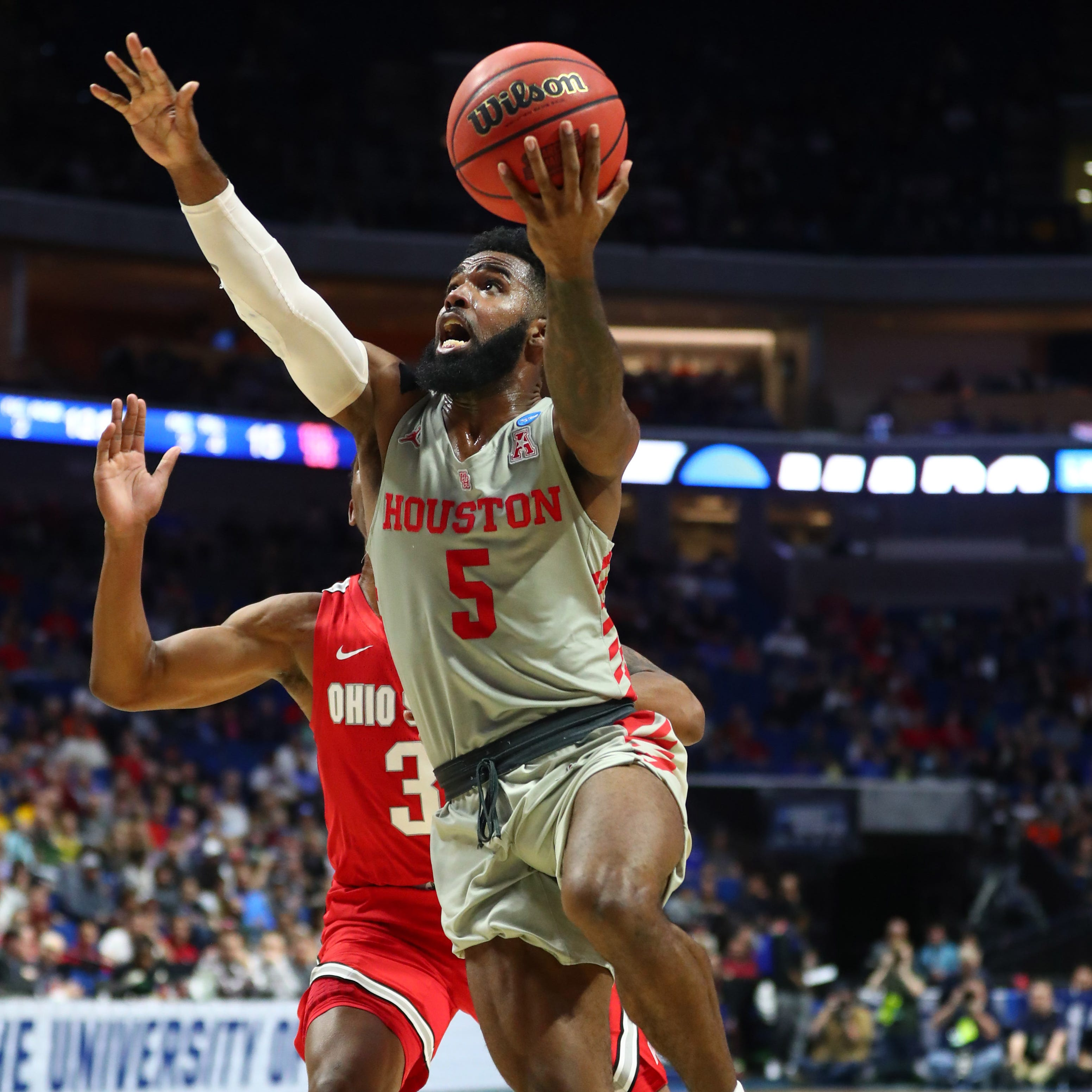 NCAA March Madness: Houston tops Ohio State to make first Sweet 16 since 1984