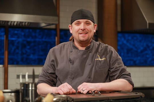 "Chef Andy Richmer of Madison, Indiana on Food Network's ""Chopped"""