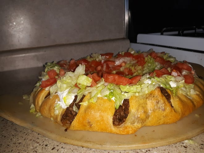 This week, Lovina shares a recipe for a taco ring.