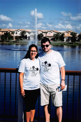 Carmen Puerto Diaz and her husband on a trip in October 2018. Puerto Diaz was five months into a high-risk pregnancy when she was arrested and detained by Immigration and Customs Enforcement officials in January.