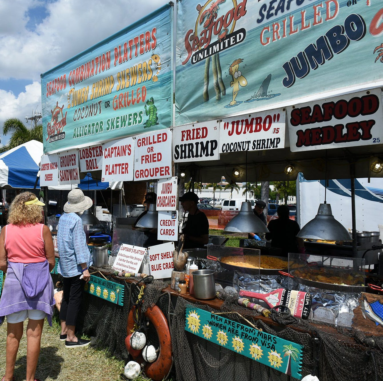 Islanders enjoy weekend at Seafood and Music Festival