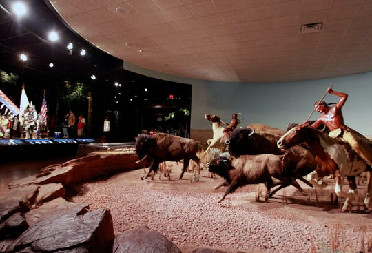 The North American Indians, A Tribute to Survival exhibit at the Milwaukee Public Museum.