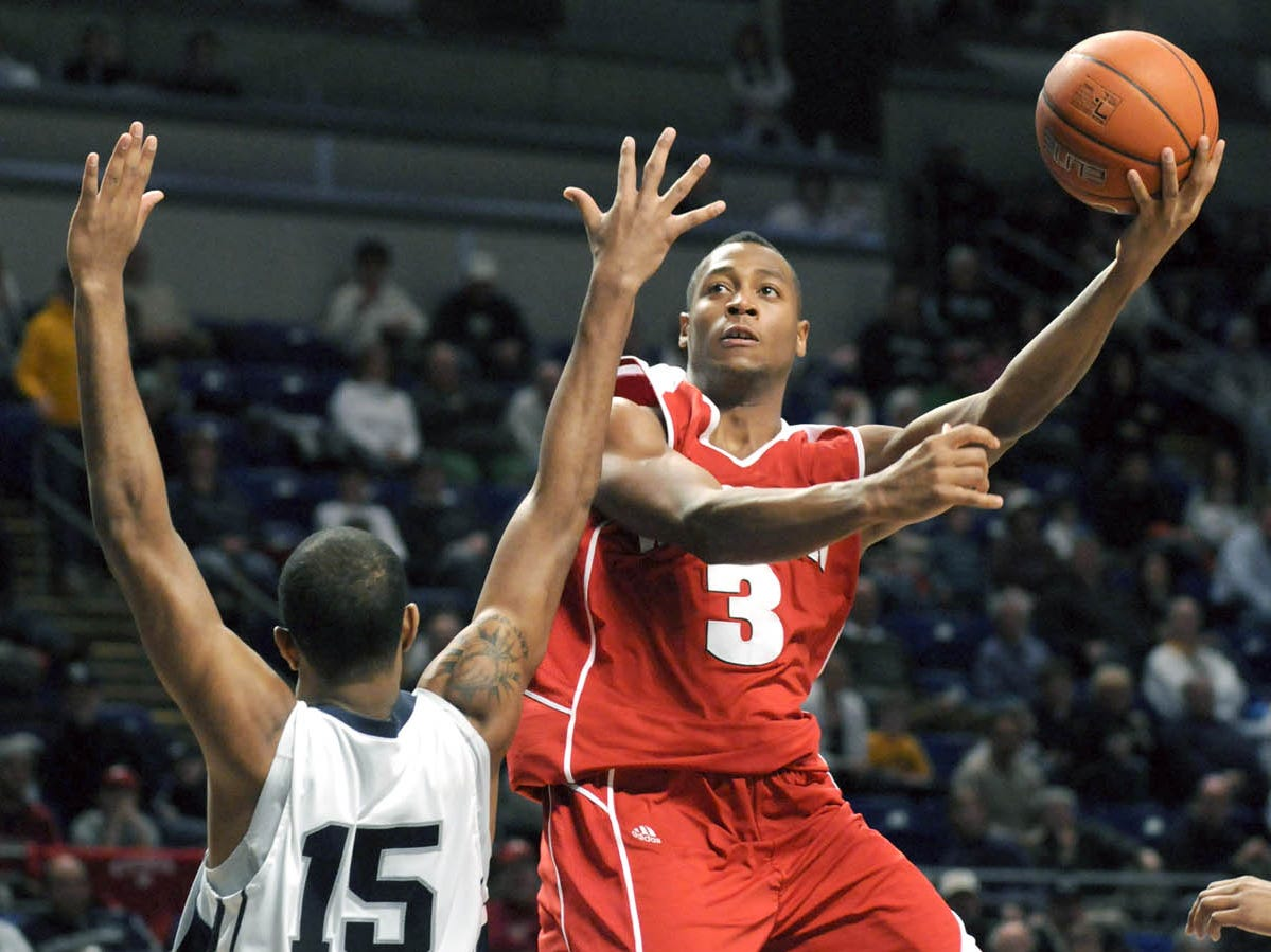Trevon Hughes, an All State honoree at St. John's Northwestern Military Academy in Delafield, played in the NCAA Tournament all four years at Wisconsin (2007-10). He scored 19 points in the Badgers' 53-49 win over Wofford in the first round of the 2010 tournament.