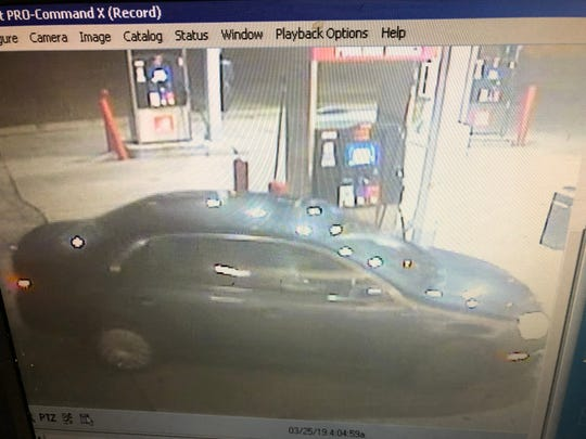 A man driving a black Volkswagon is wanted by Milwaukee police for two robberies that took place early March 25.