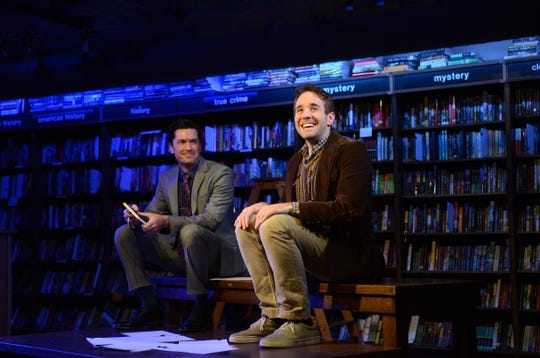 "Adam Estes and Doug Clemons performed the musical ""The Story of My Life"" at Boswell Books in 2015."