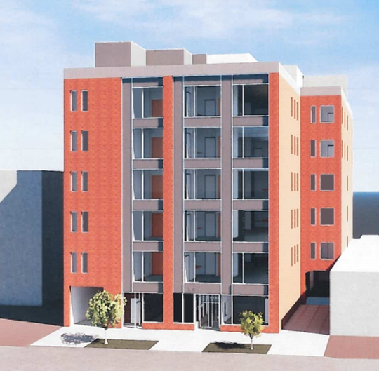 A vacant six-story office building on Milwaukee's east side would be converted into senior housing under a new proposal.