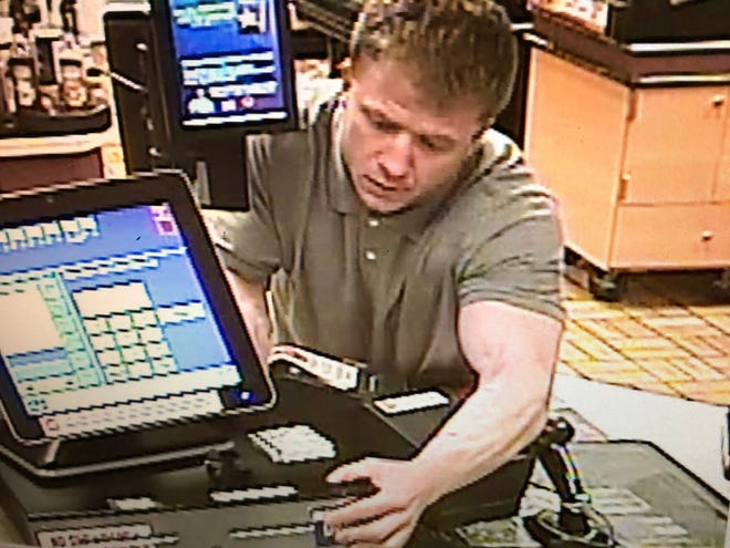 A male suspect is wanted for two robberies that took place early March 25 at two gas stations, one on South 84th street in Milwaukee and the other on South 27th street in Oak Creek.