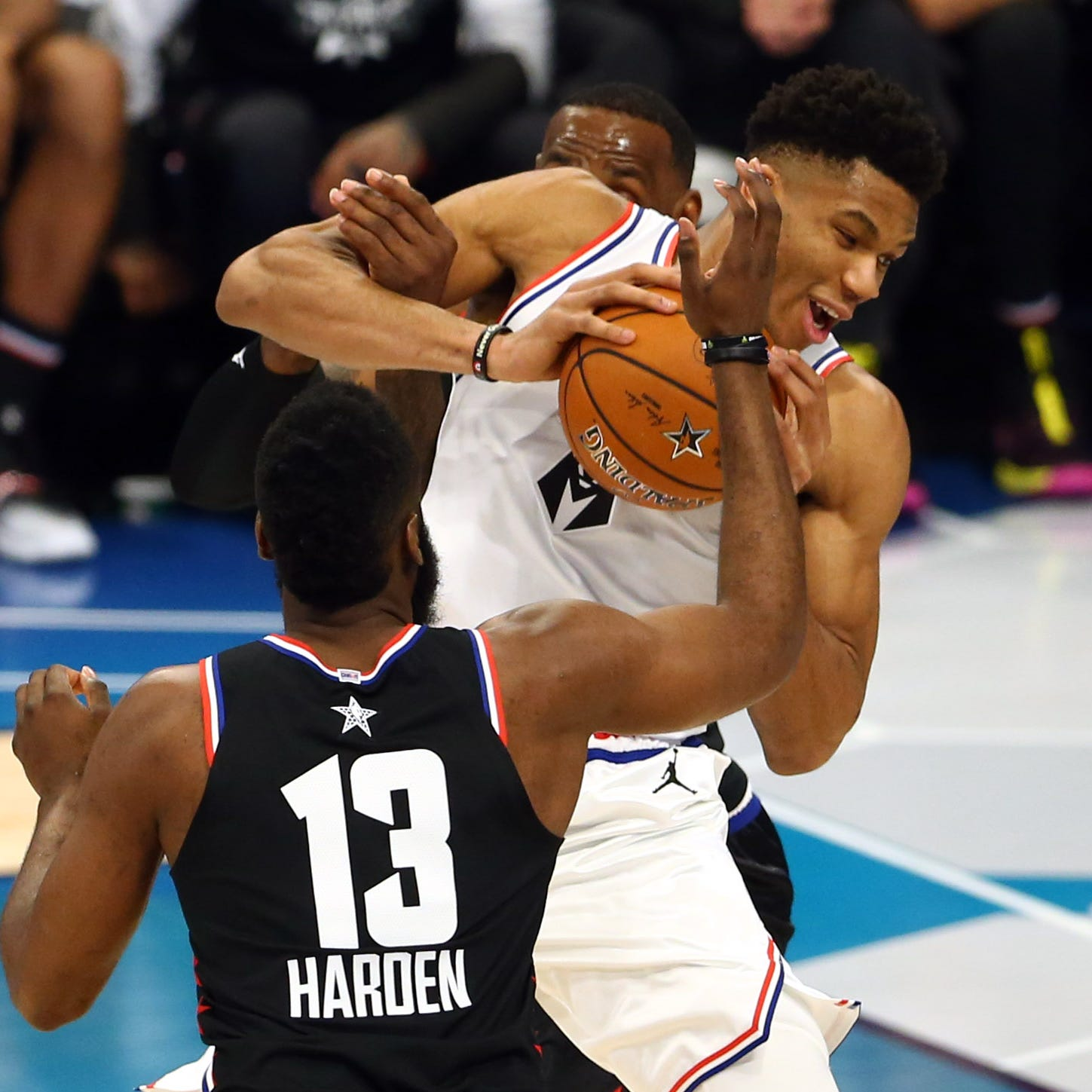 Giannis Antetokounmpo? James Harden? Who's the MVP? This NBA race is far from decided.