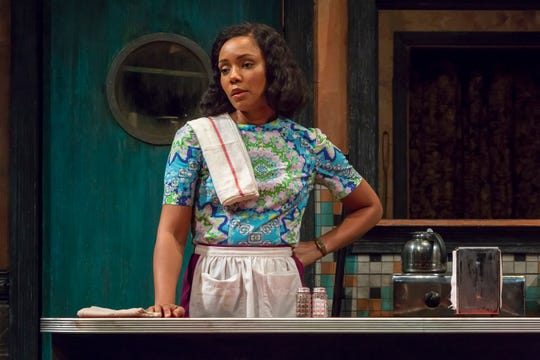 "Malkia Stampley performs in Milwaukee Repertory Theater's production of ""Two Trains Running"" April 16–May 12."