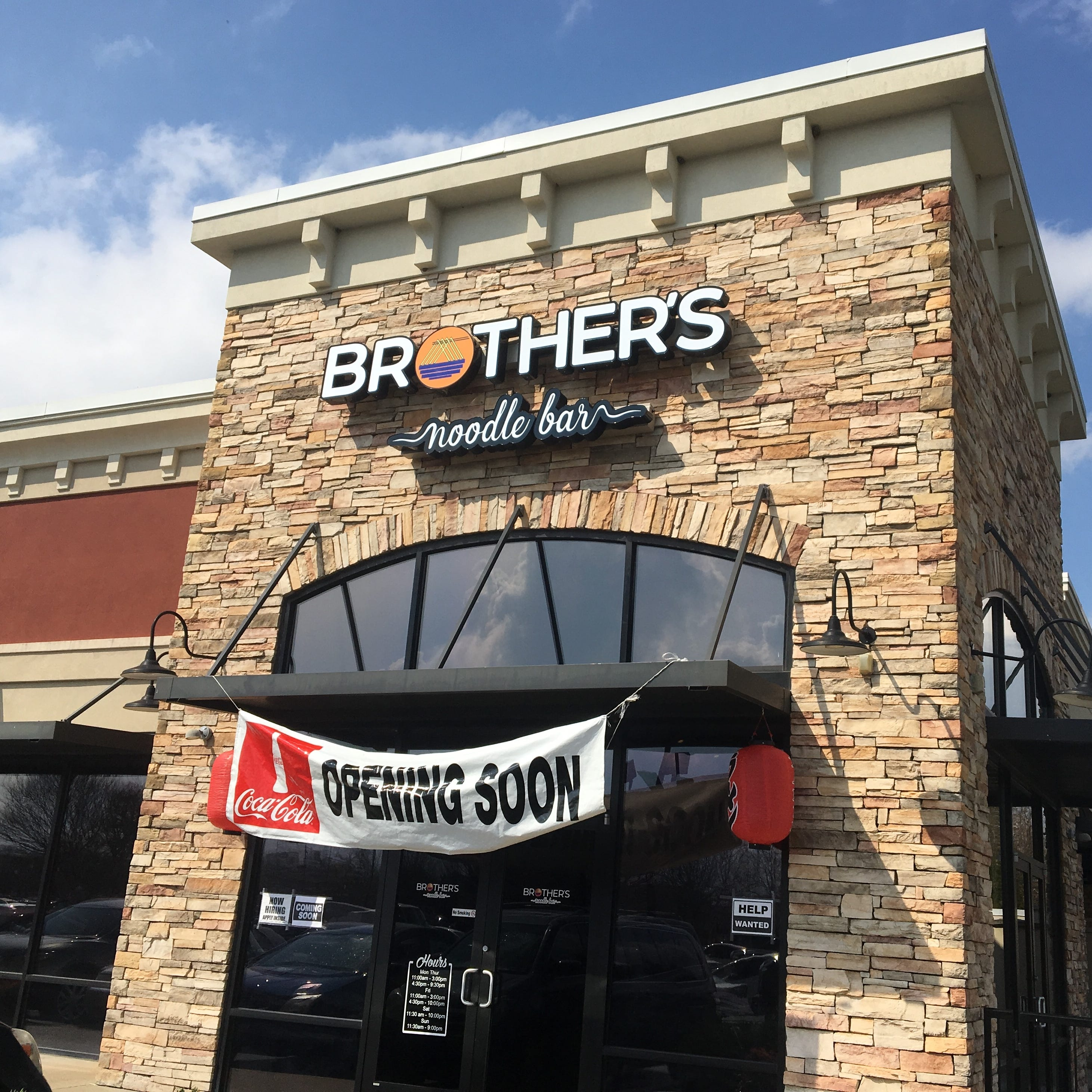 Brother's Noodle Bar to open on Medical Center Parkway in Murfreesboro