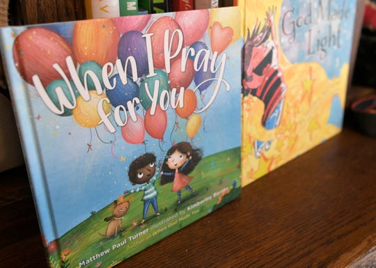 "Matthew Paul Turner's children's books include ""When God Made Light,"" ""When God Made You,"" and ""When I Pray For You."""