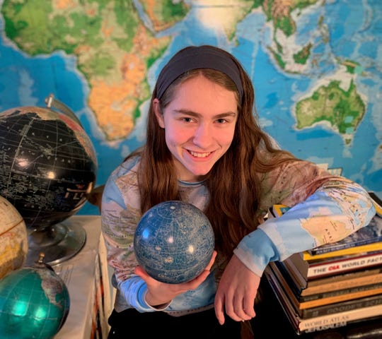 Brooklyn Lord, a home-schooled student from Franklin, will compete in the NationalGeographicGeoBeeTennessee State Competition.