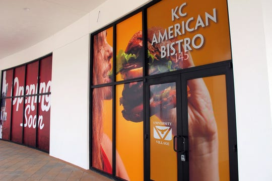 KC American Bistro's second location is targeted to open in mid-May 2019 at University Village Shops near FGCU.