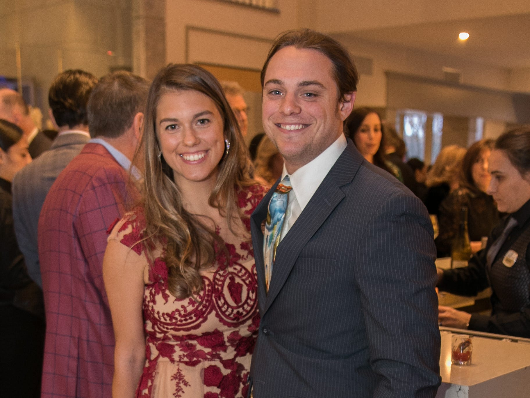 Alexandria Carrazzone, Alex Orlando. Academy of The Holy Angels held their 22nd annual Angelic Evening at Edgewood Country Club in RiverVale. 03/22/2019