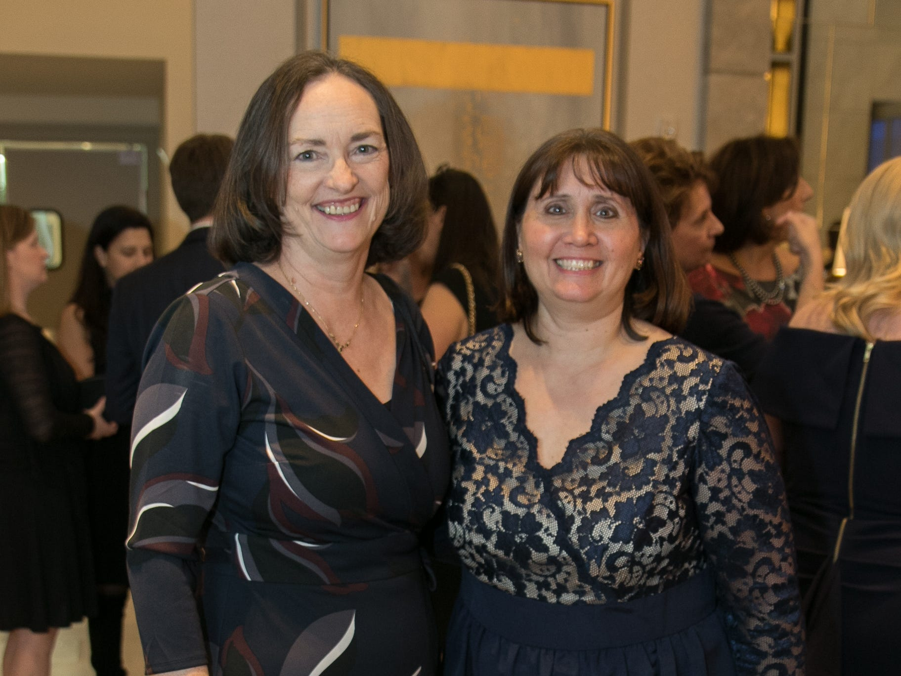Noreen Best, Dorrie Voulgaris. Academy of The Holy Angels held their 22nd annual Angelic Evening at Edgewood Country Club in RiverVale. 03/22/2019