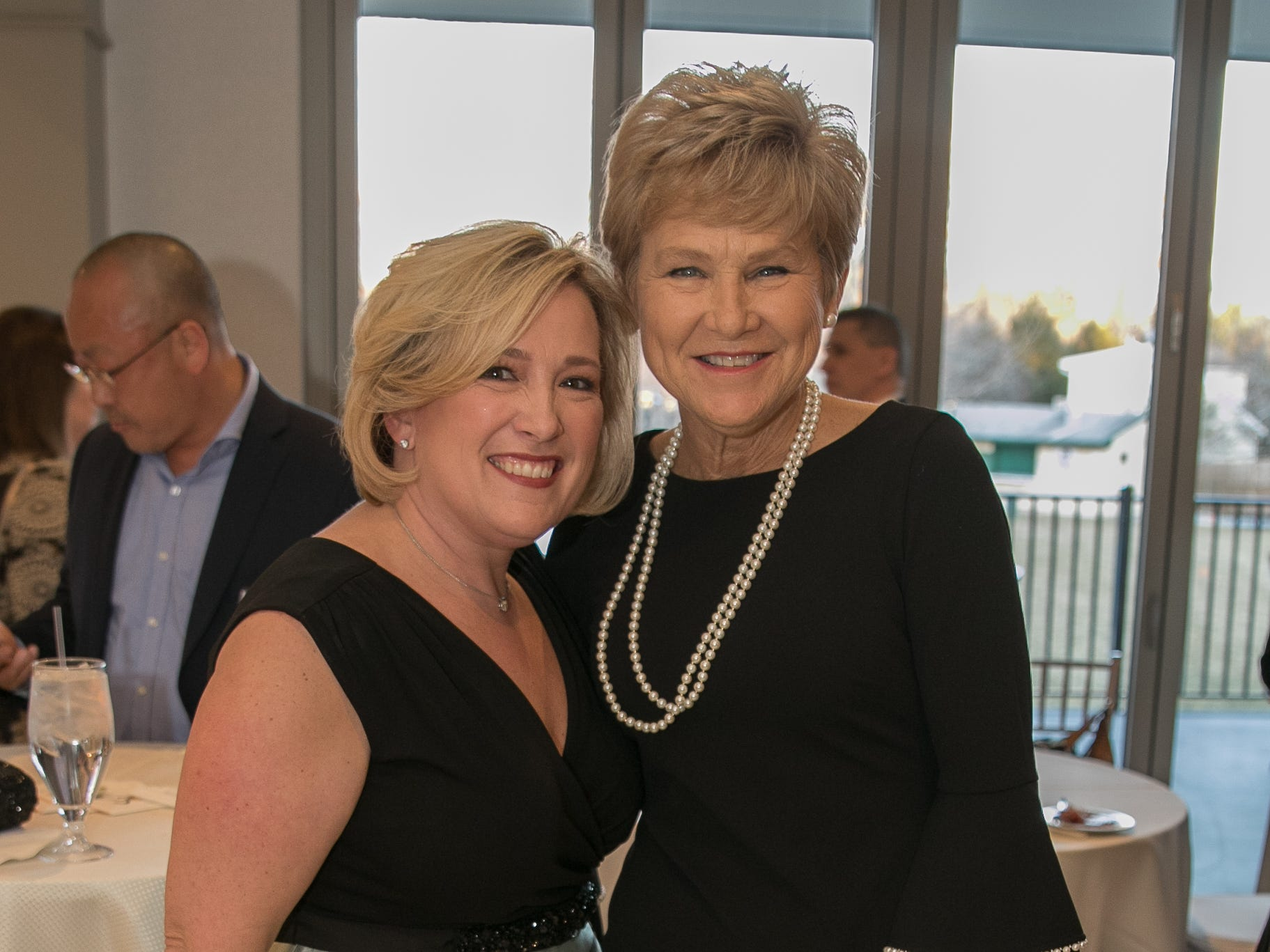 Honorees- Colleen Corbett Staff, Patti McGovern Hill. Academy of The Holy Angels held their 22nd annual Angelic Evening at Edgewood Country Club in RiverVale. 03/22/2019