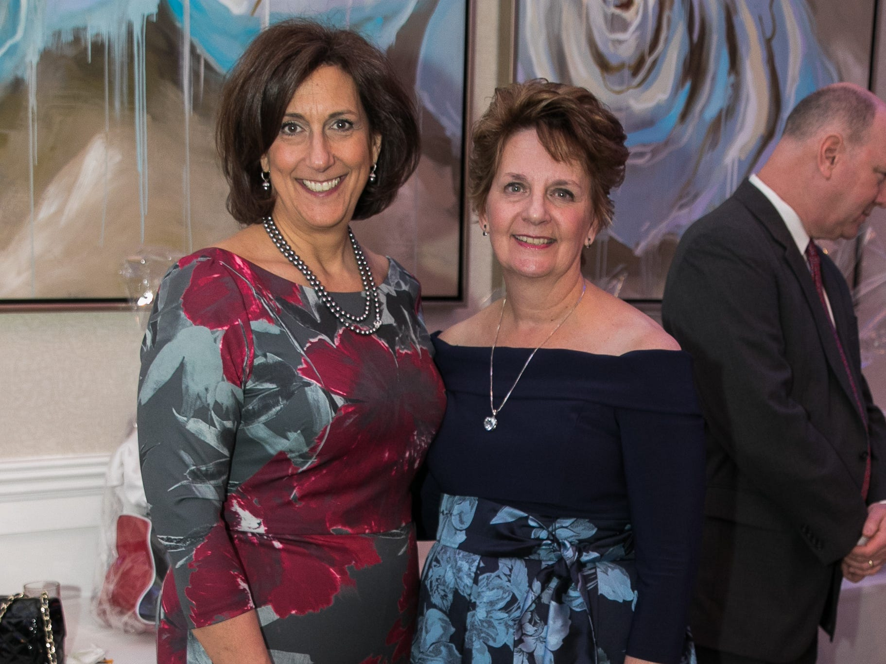 Jean Miller- Principal AHA, Melinda Hanlon- President AHA. Academy of The Holy Angels held their 22nd annual Angelic Evening at Edgewood Country Club in RiverVale. 03/22/2019