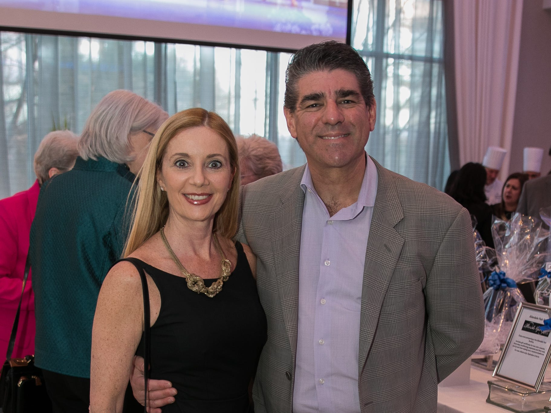 Dr. Melanie Sinatra, Dr. Warren Boardman. Academy of The Holy Angels held their 22nd annual Angelic Evening at Edgewood Country Club in RiverVale. 03/22/2019