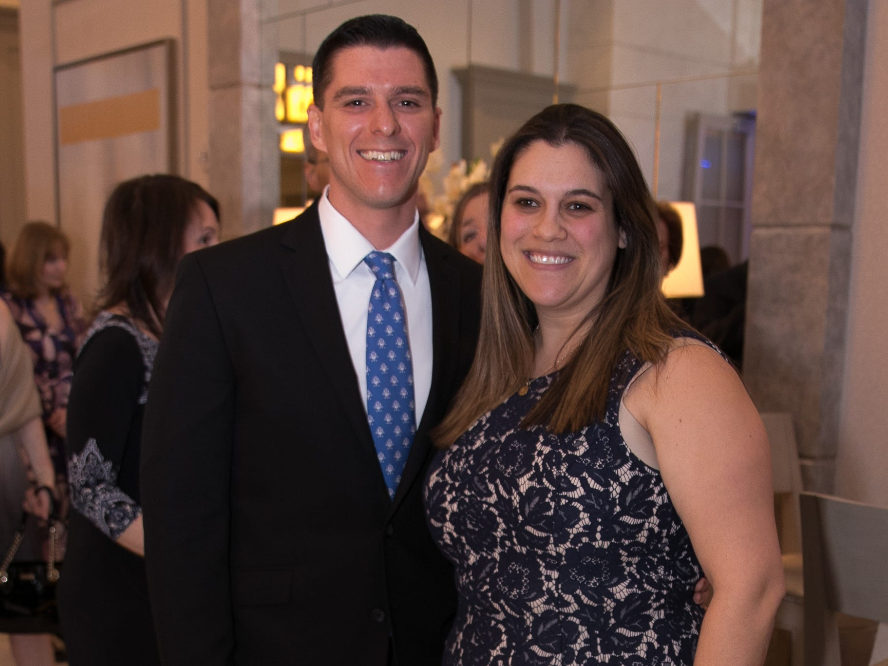 Phil and Andrea Beyer. Academy of The Holy Angels held their 22nd annual Angelic Evening at Edgewood Country Club in RiverVale. 03/22/2019