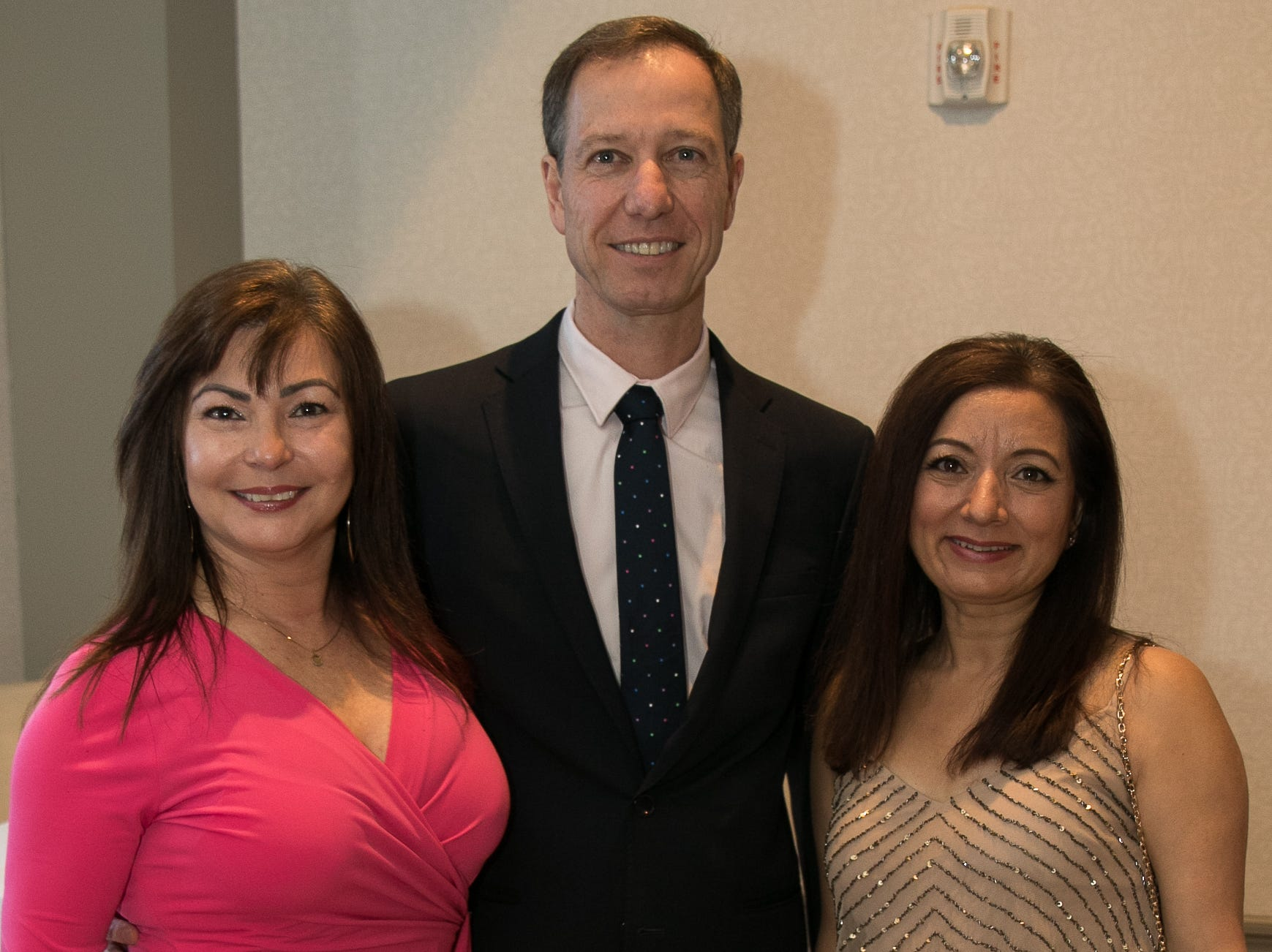 Fatima Semedo, Henrique Hablitscheck, Joyti Sharma. Academy of The Holy Angels held their 22nd annual Angelic Evening at Edgewood Country Club in RiverVale. 03/22/2019