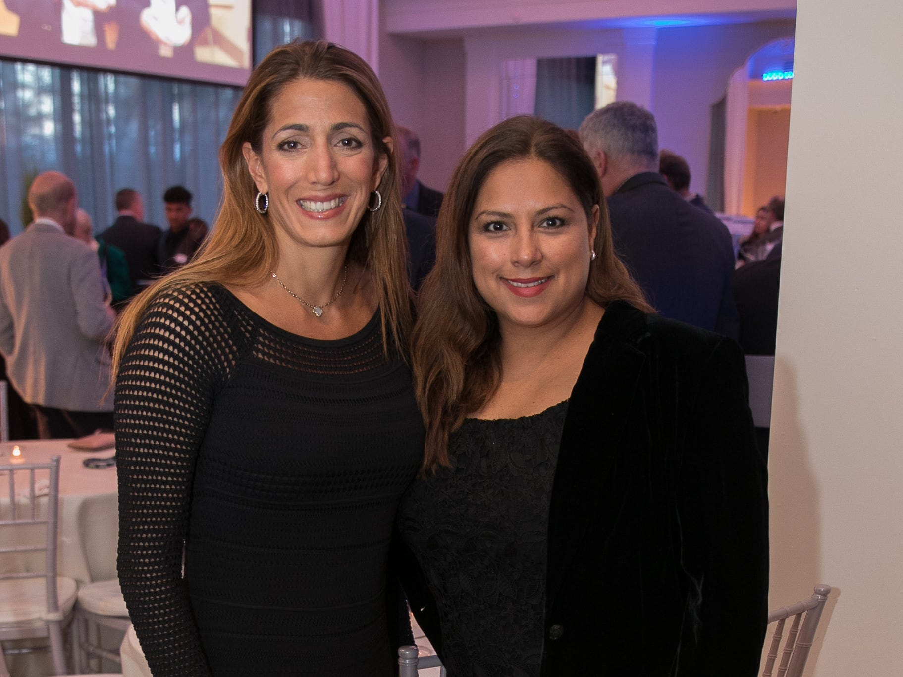 Michelle Limbardo, Adriena Bonilla. Academy of The Holy Angels held their 22nd annual Angelic Evening at Edgewood Country Club in RiverVale. 03/22/2019