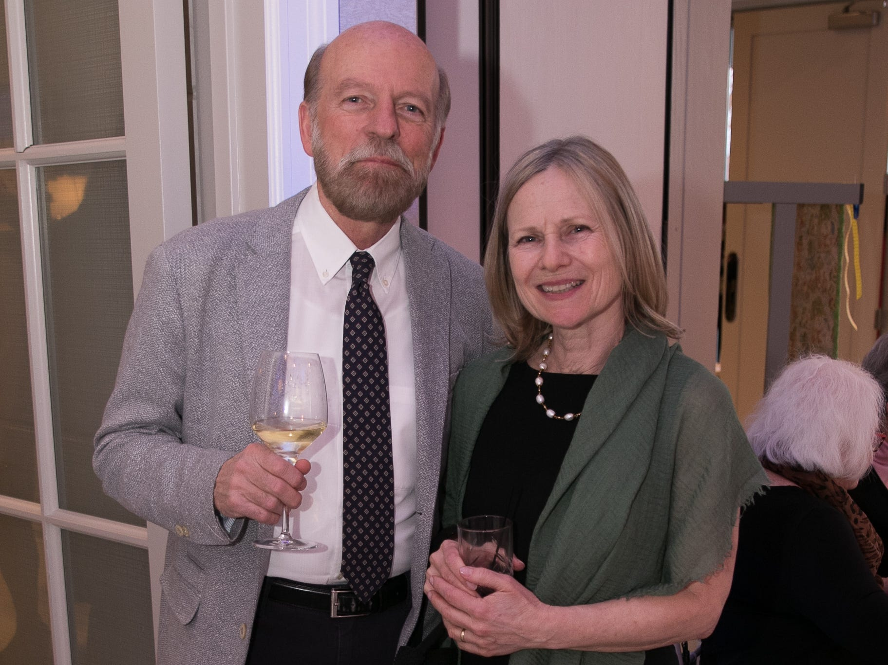 Bill and Nancy Schneberger. Academy of The Holy Angels held their 22nd annual Angelic Evening at Edgewood Country Club in RiverVale. 03/22/2019