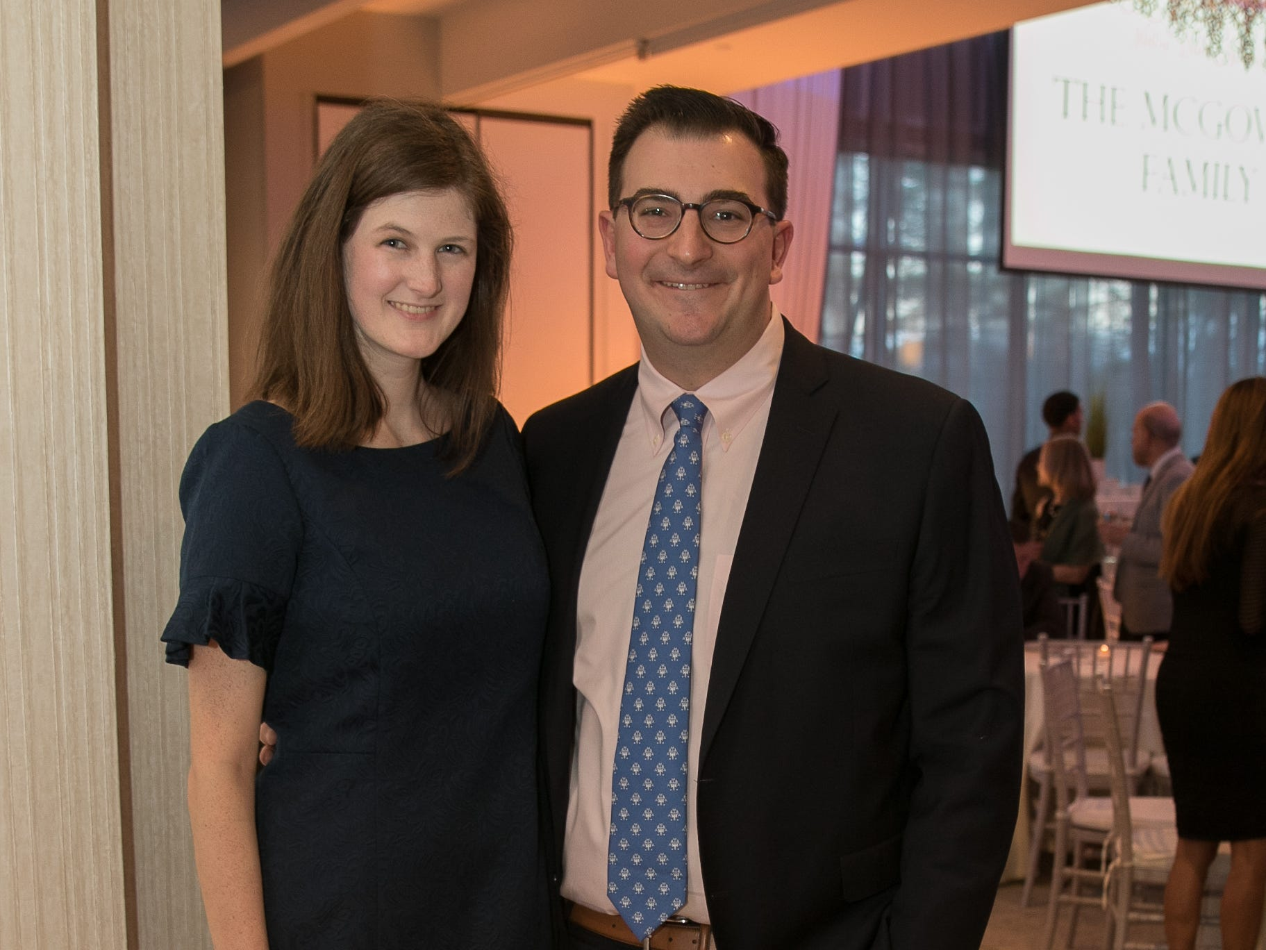 Amanda Williams, Jon Hanlon. Academy of The Holy Angels held their 22nd annual Angelic Evening at Edgewood Country Club in RiverVale. 03/22/2019
