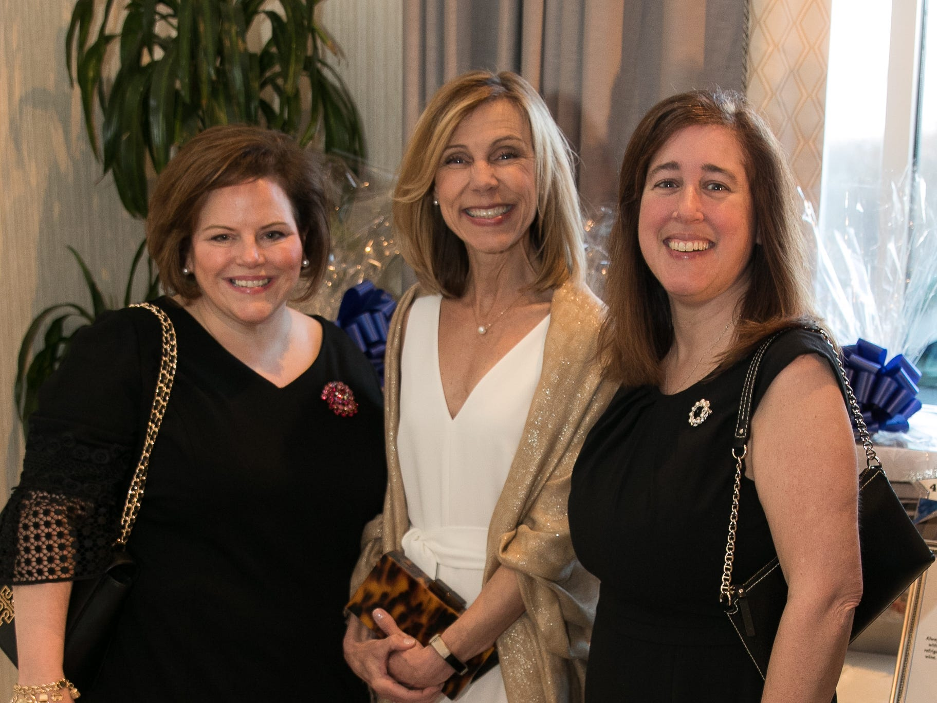 Janet Staff, Sue Bertini, Elizabeth Staff. Academy of The Holy Angels held their 22nd annual Angelic Evening at Edgewood Country Club in RiverVale. 03/22/2019