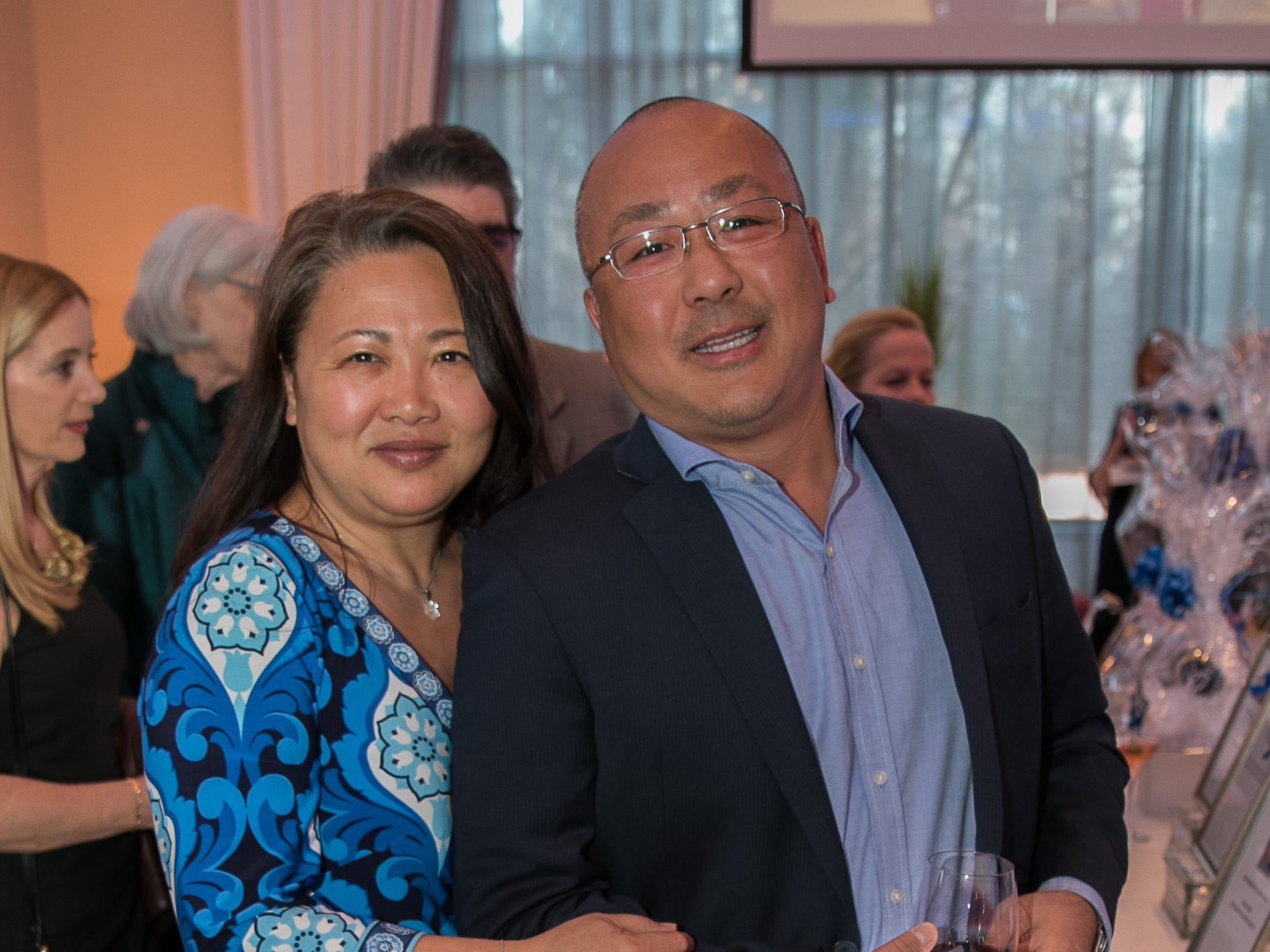 Augustine and Susan Hong. Academy of The Holy Angels held their 22nd annual Angelic Evening at Edgewood Country Club in RiverVale. 03/22/2019