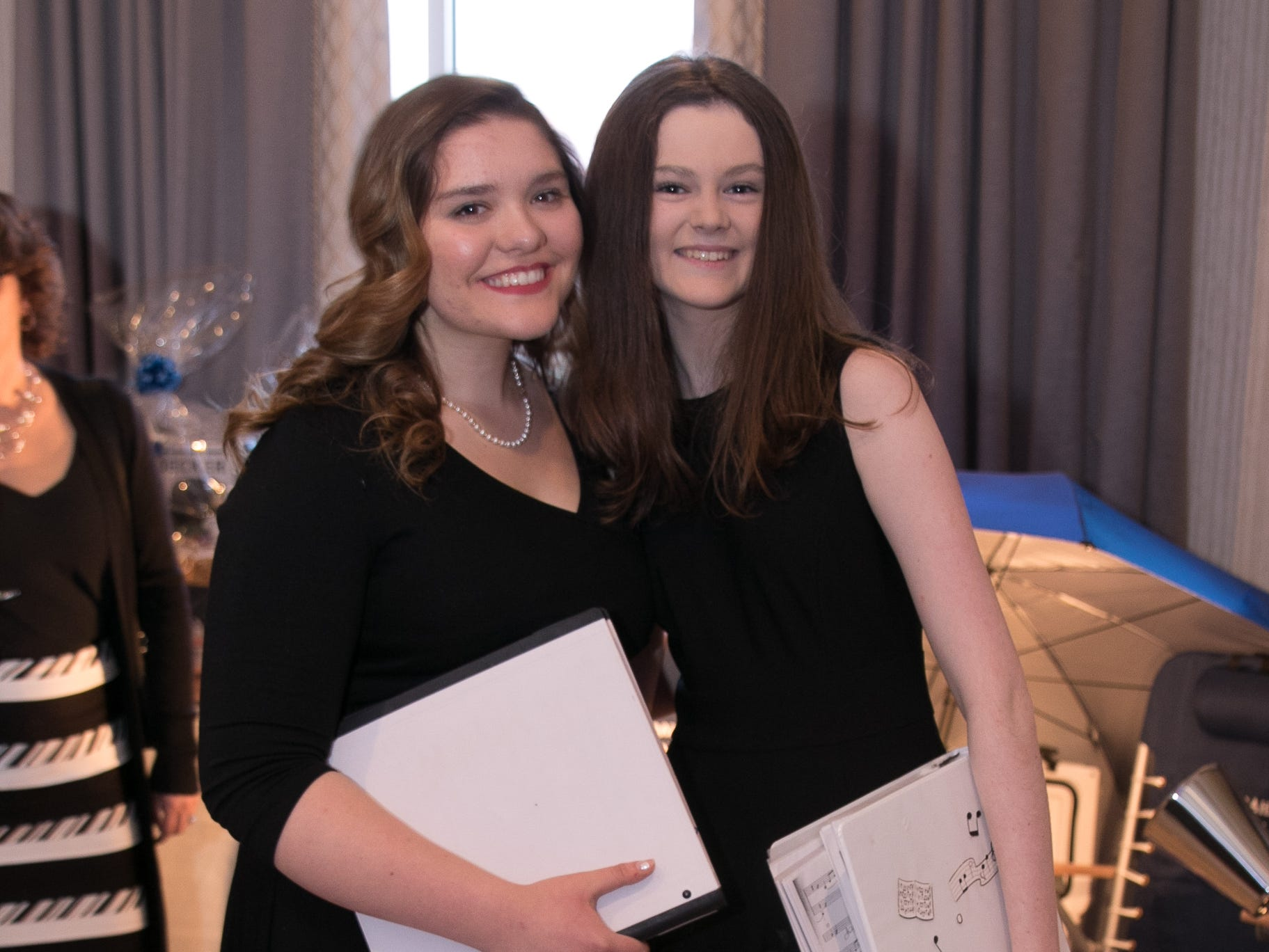 Valentina Zazzali, Patsy Coleman. Academy of The Holy Angels held their 22nd annual Angelic Evening at Edgewood Country Club in RiverVale. 03/22/2019