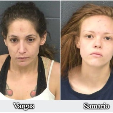 Two women charged after 2-year-old severely beaten in Las Cruces