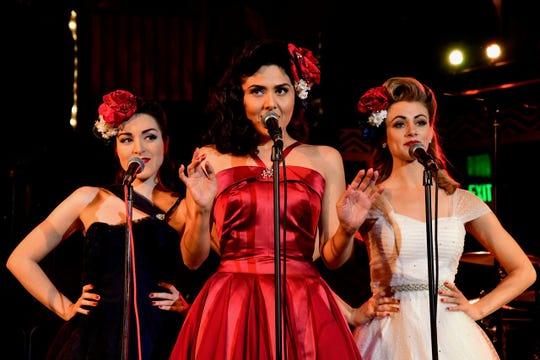 The Satin Dollz bring back the swing era with the smooth music of 40s.