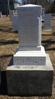 Arthur Power died in 1836. His wife, Deborah Aldrich, who died in New York before Power came to Michigan, is also buried in Farmington's Quaker Cemetery on Gill Road with him.