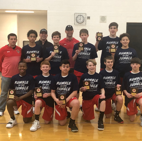 Livonia Hawks White team wins Rumble in the Jungle league tournament