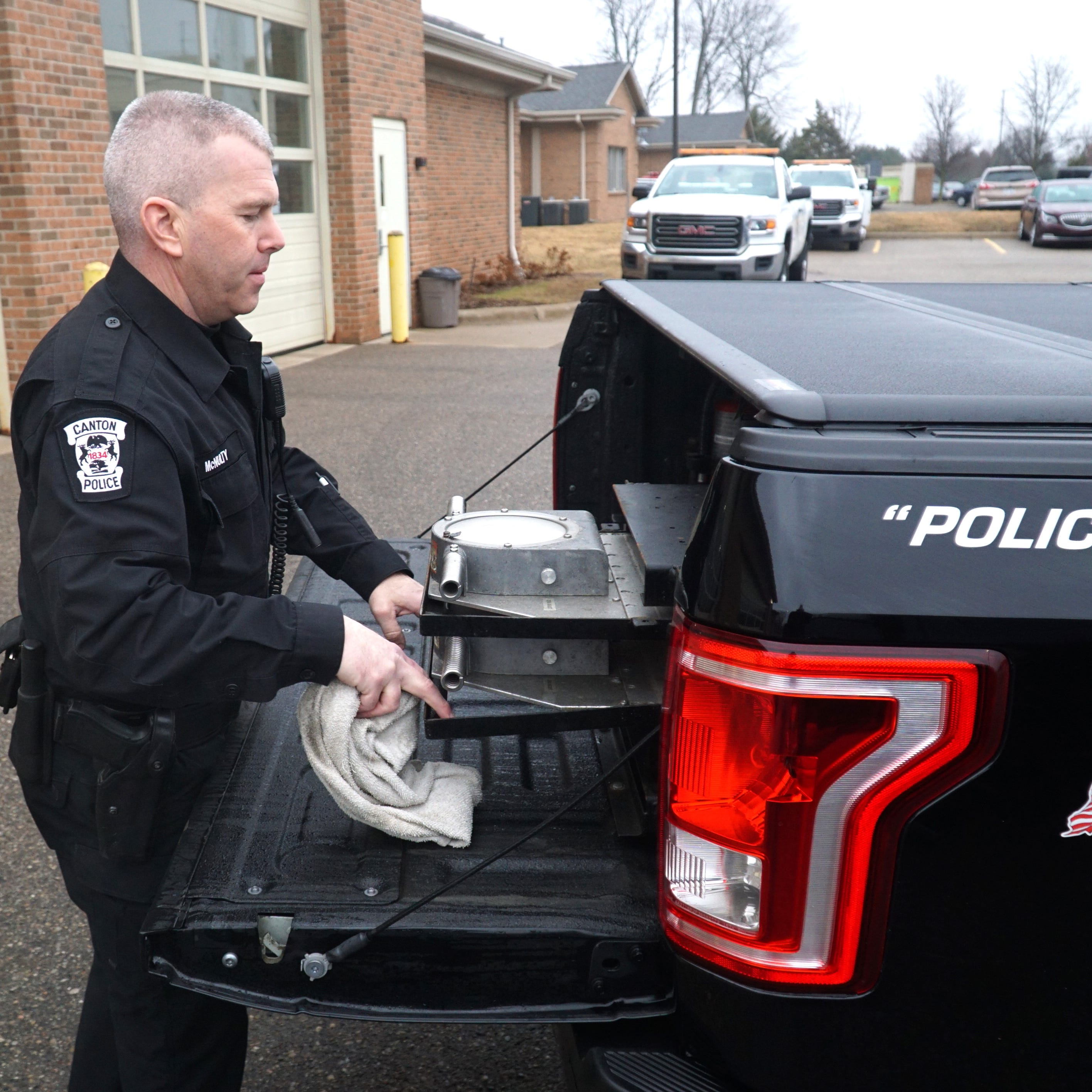 Canton Police testing, evaluating Ford F-150 trucks for its fleet