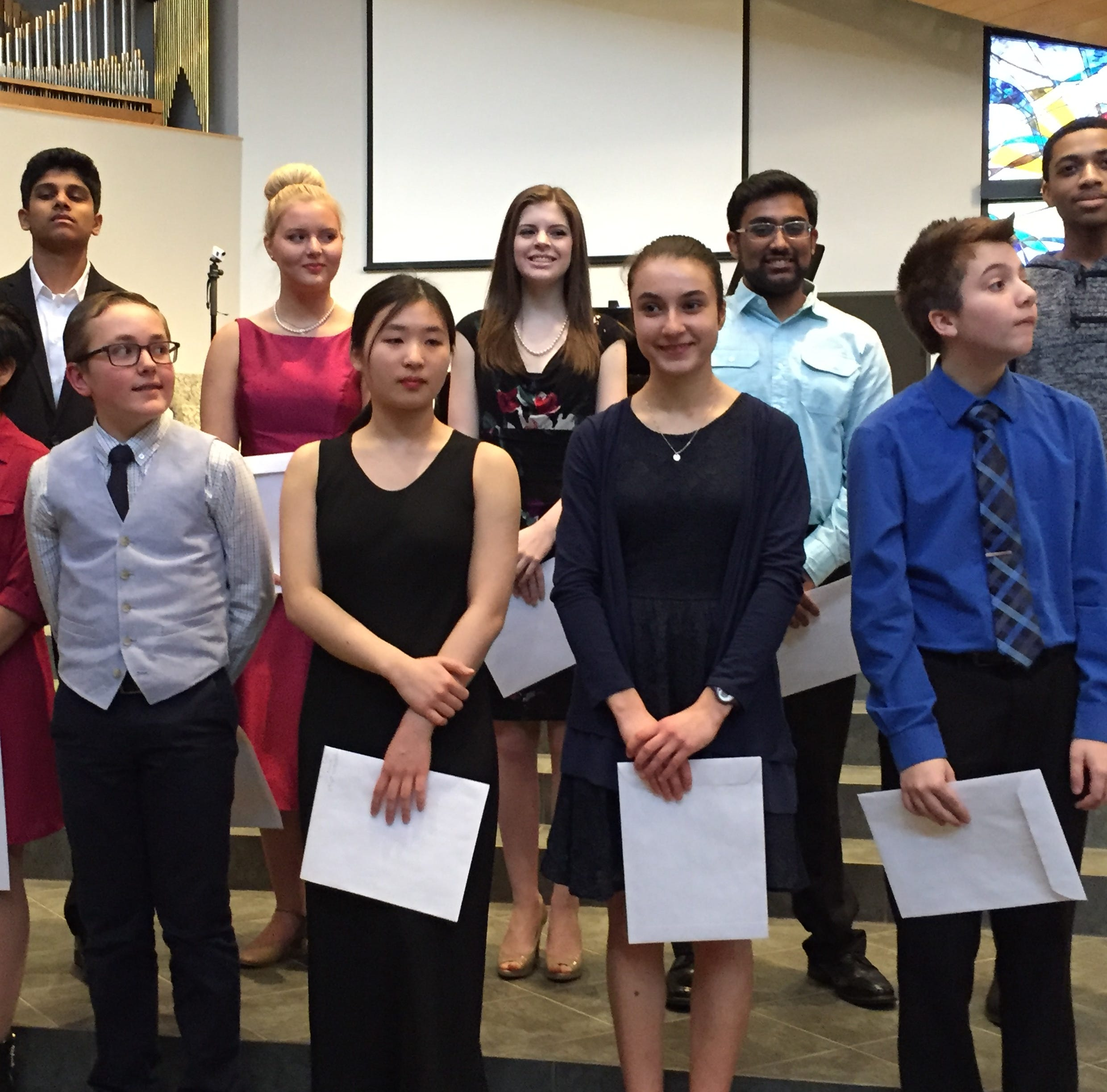 Farmington Musicale announces scholarship winners